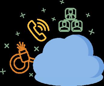 AgilityCg Cloud Graphic